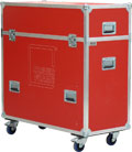 Clever Frame C1 Transport box - red