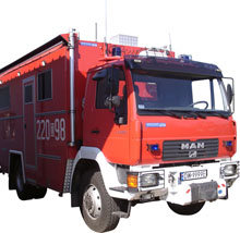 Installation of fire-fighting vehicle